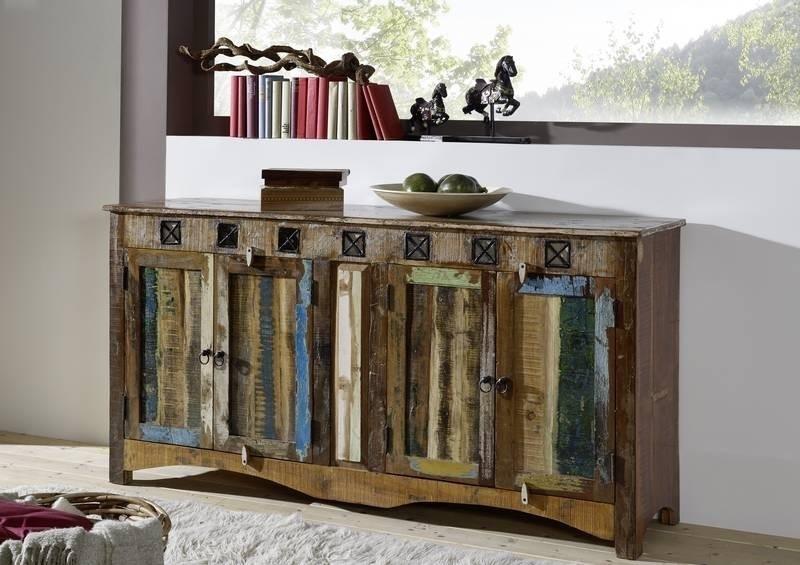SPIRIT komoda #40 lakované staré indické drevo