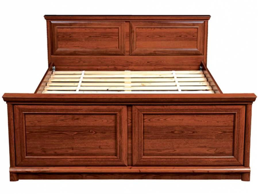 Manželská posteľ KENT ELOZ 160   Farba: Gaštan