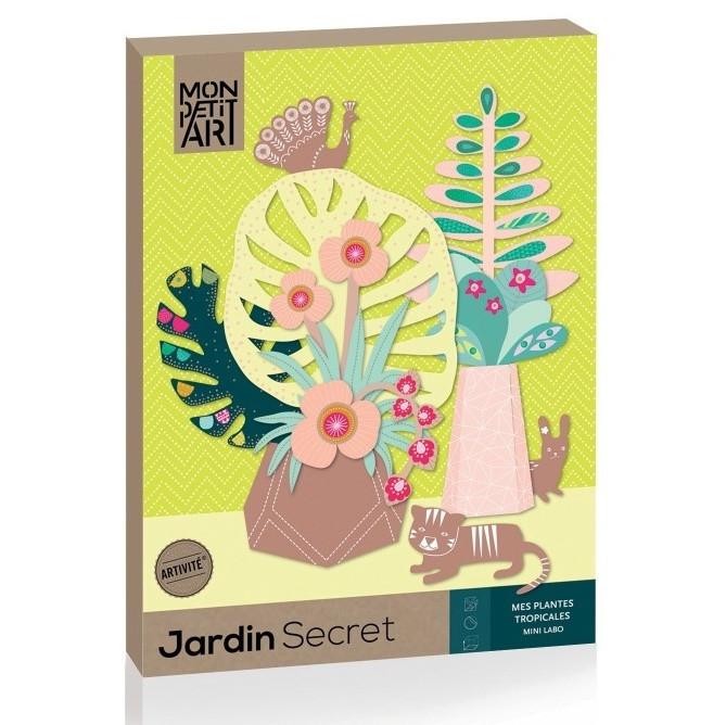 Sada kreatívnych dekorácií Mon Petit Art Jardin Secret