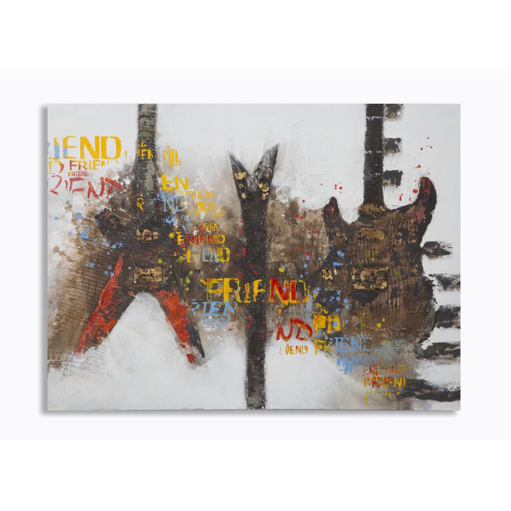 Obraz Mauro Ferretti Guitars Art, 120 x 90 cm