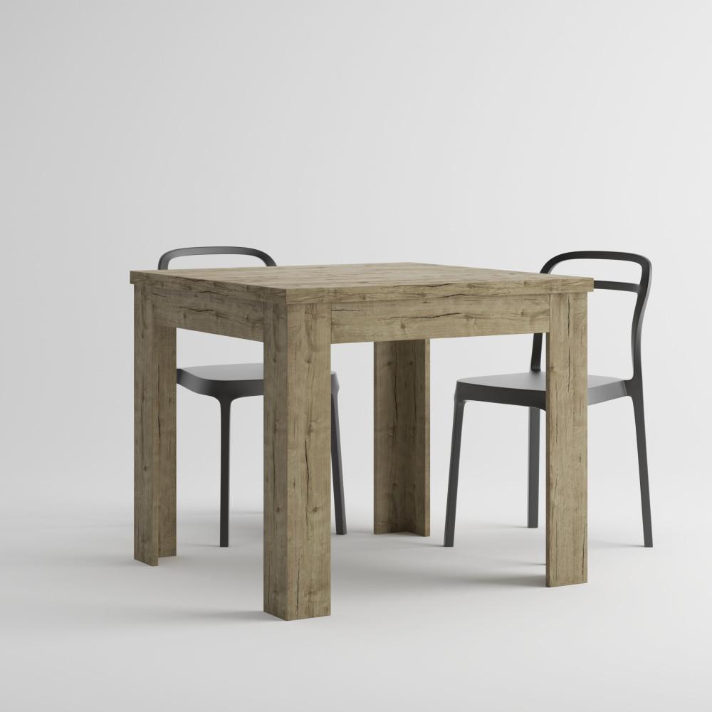 Rozkladací jedálenský stôl v dekore duba sherwood MobiliFiver Eldorado, dĺžka 90-180cm