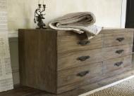 Furniture nábytok  Masívna Komoda z Palisanderu  Rasúl  148x50x90 cm