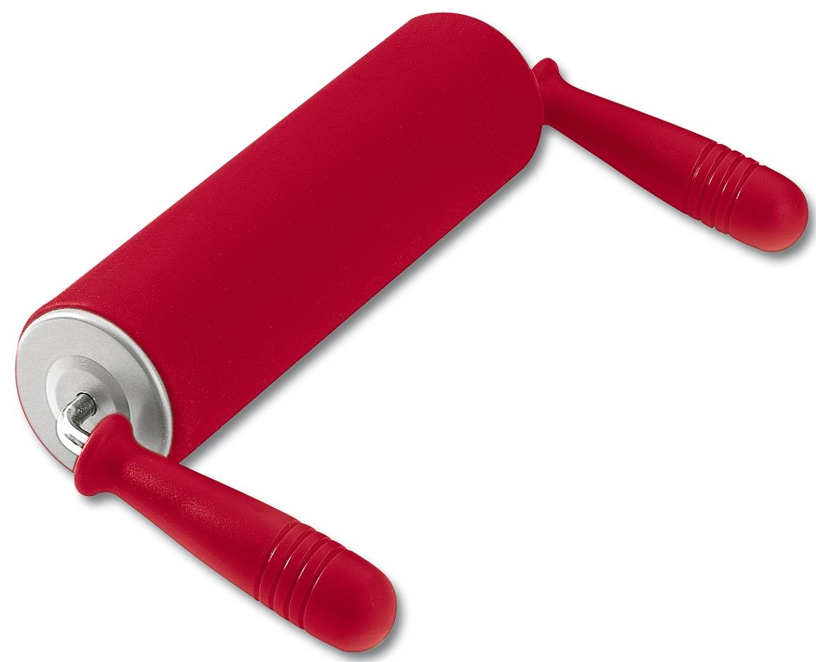 Silikónový valček na cesto Kaiserflex Kaiser červený 25 cm