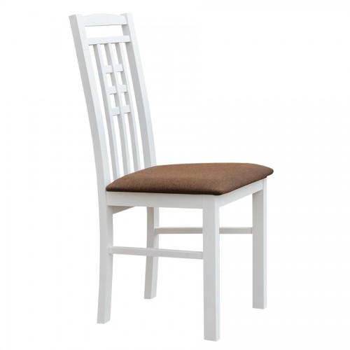 Biely nábytok Stolička Belluno Elegante 31, čalúnenie MINI 529