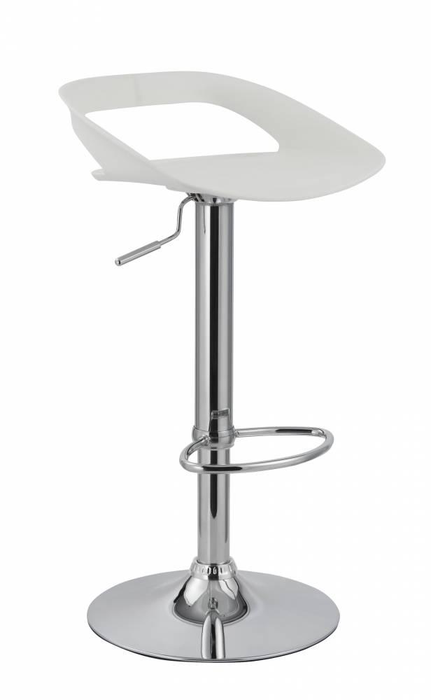 Barová stolička H-61 (biela)