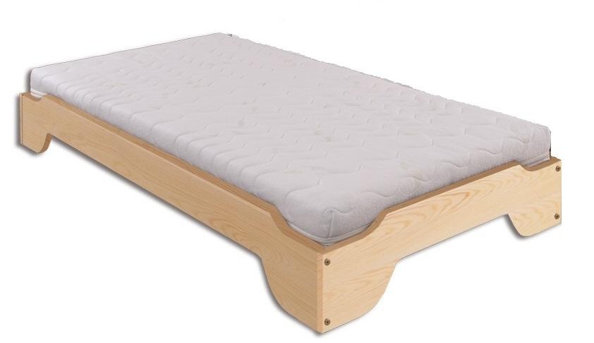 Jednolôžková posteľ 90 cm LK 138 (masív)