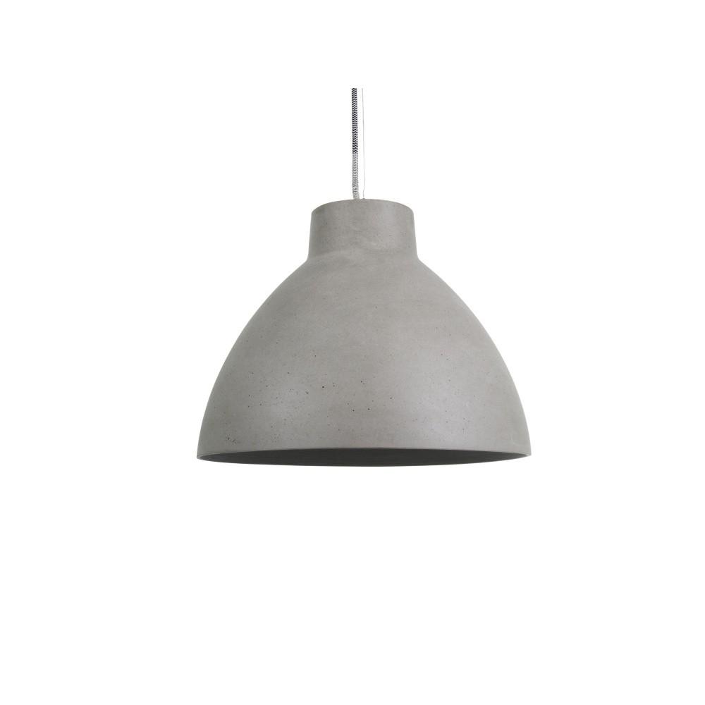 Sivé stropné závesné svietidlo Present Time Sandstone