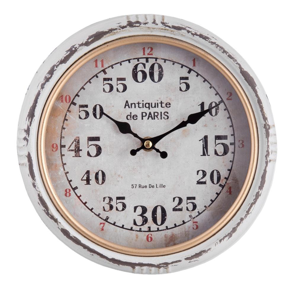 Nástenné hodiny Clayre & Eef Gulina, ⌀24 cm