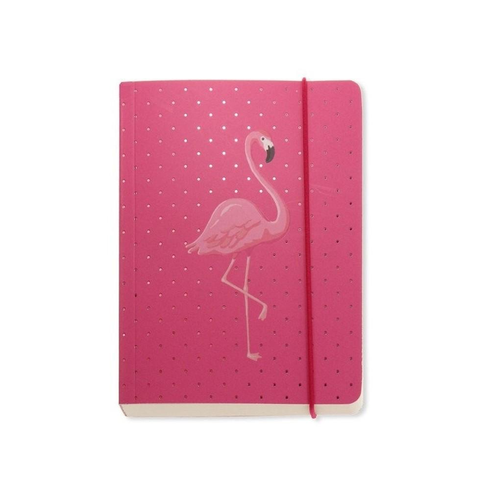 Zápisník A6 Go Stationery Flamingo Pink