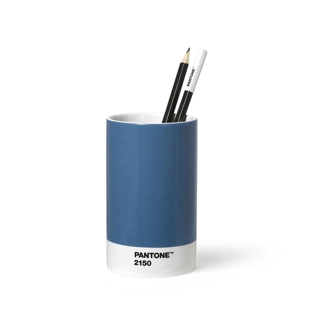 Modrý keramický stojan na ceruzky Pantone