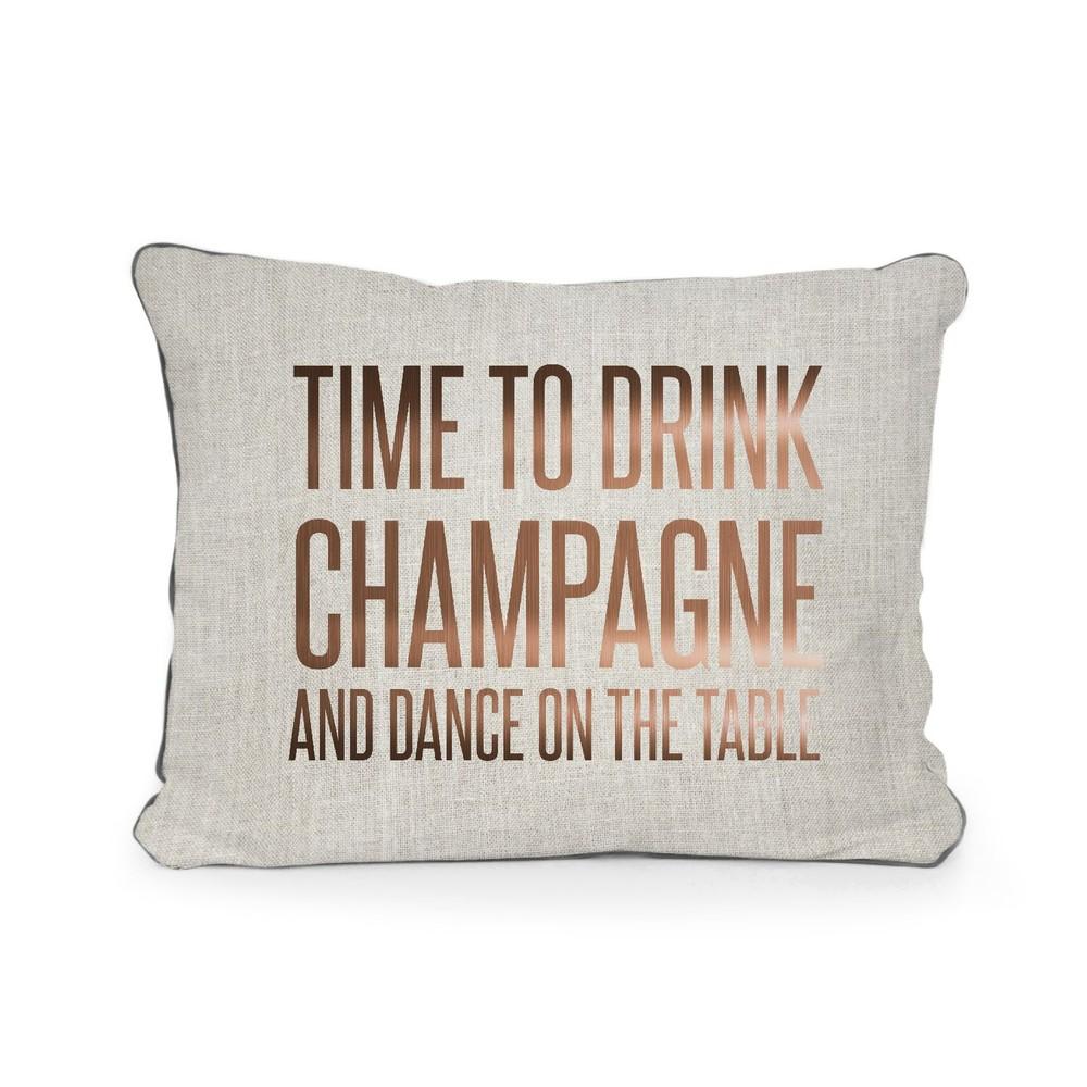 Vankúš Surdic Champagne, 50×35 cm