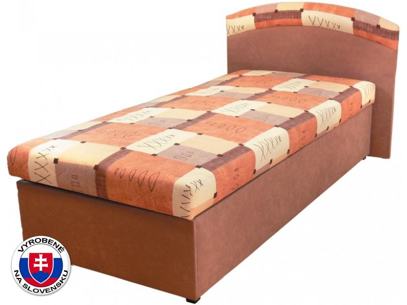 Jednolôžková posteľ (váľanda) 90 cm Napoli (s molitanovým matracom)