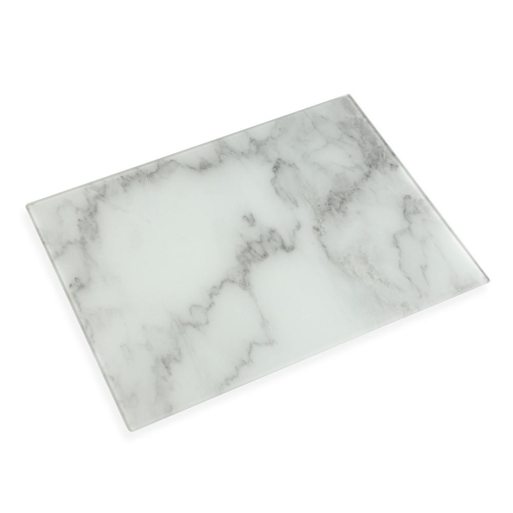 Sivá doštička na servírovanie Versa Marble