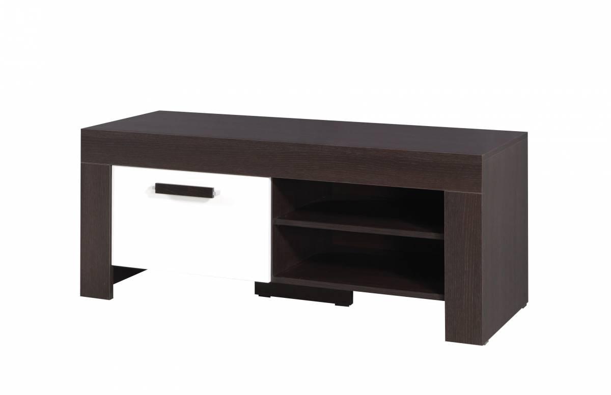 TV stolík/skrinka C15 (milano + krémová)