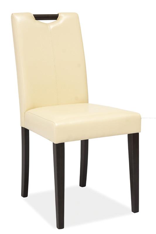 Jedálenská stolička KD-76, wenge-béžová
