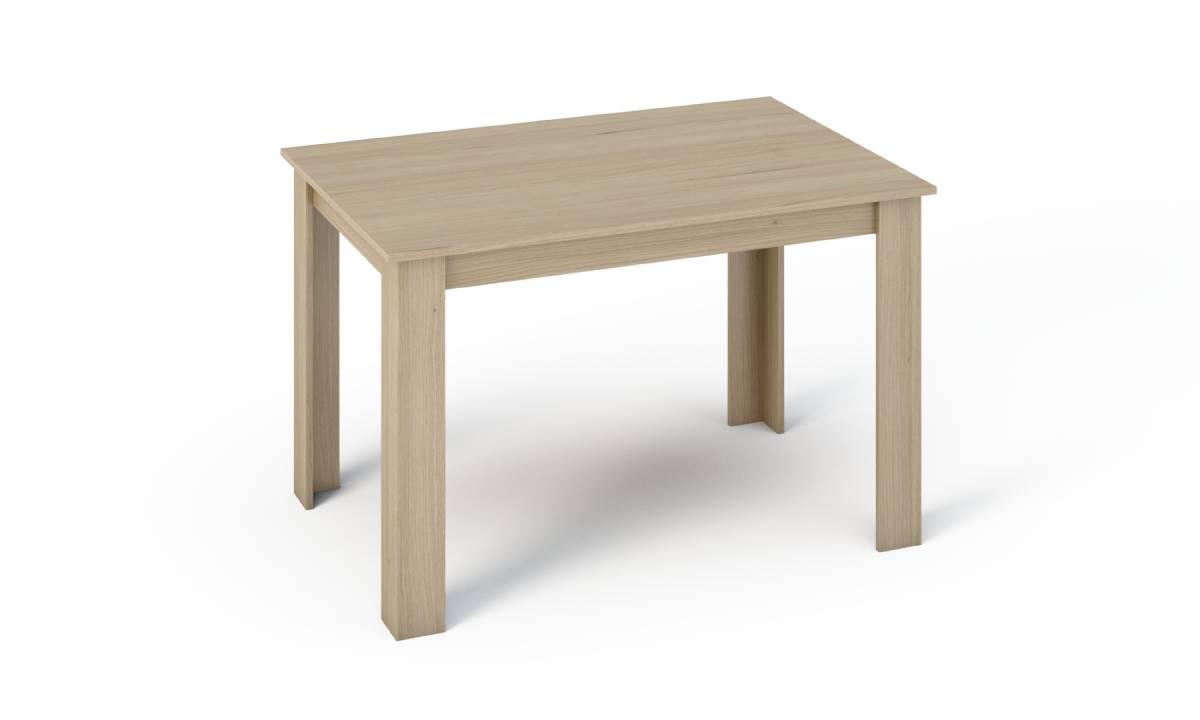KONGI jedálenský stôl 120, dub sonoma