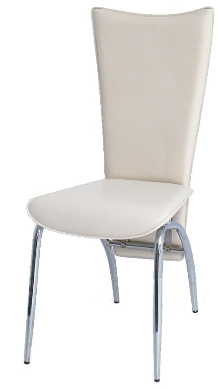 Jedálenská stolička Vanda krémová