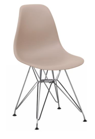 Jedálenská stolička Anisa New   Farba: teplá sivá