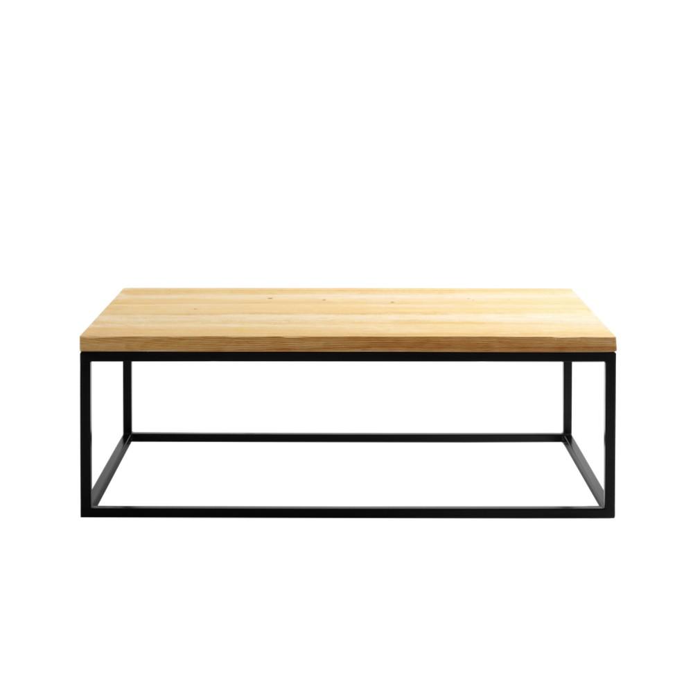 Konferenčný stolík s čiernou podnožou Custom Form Rewood