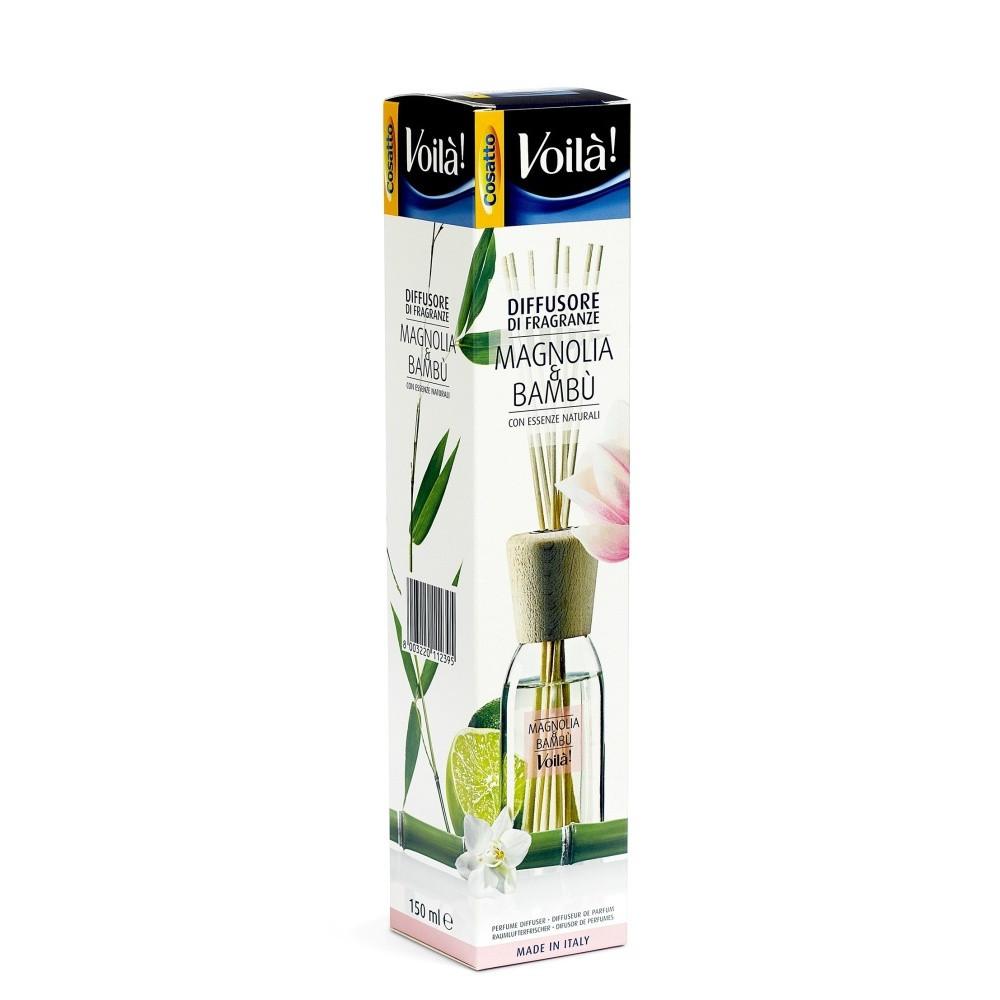 Vonný difuzér s vôňou magnólie a bambusu Cosatto Perfume
