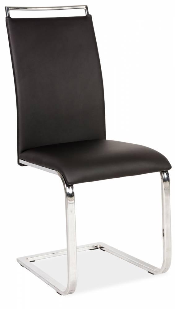 Jedálenská stolička HK-334, čierna