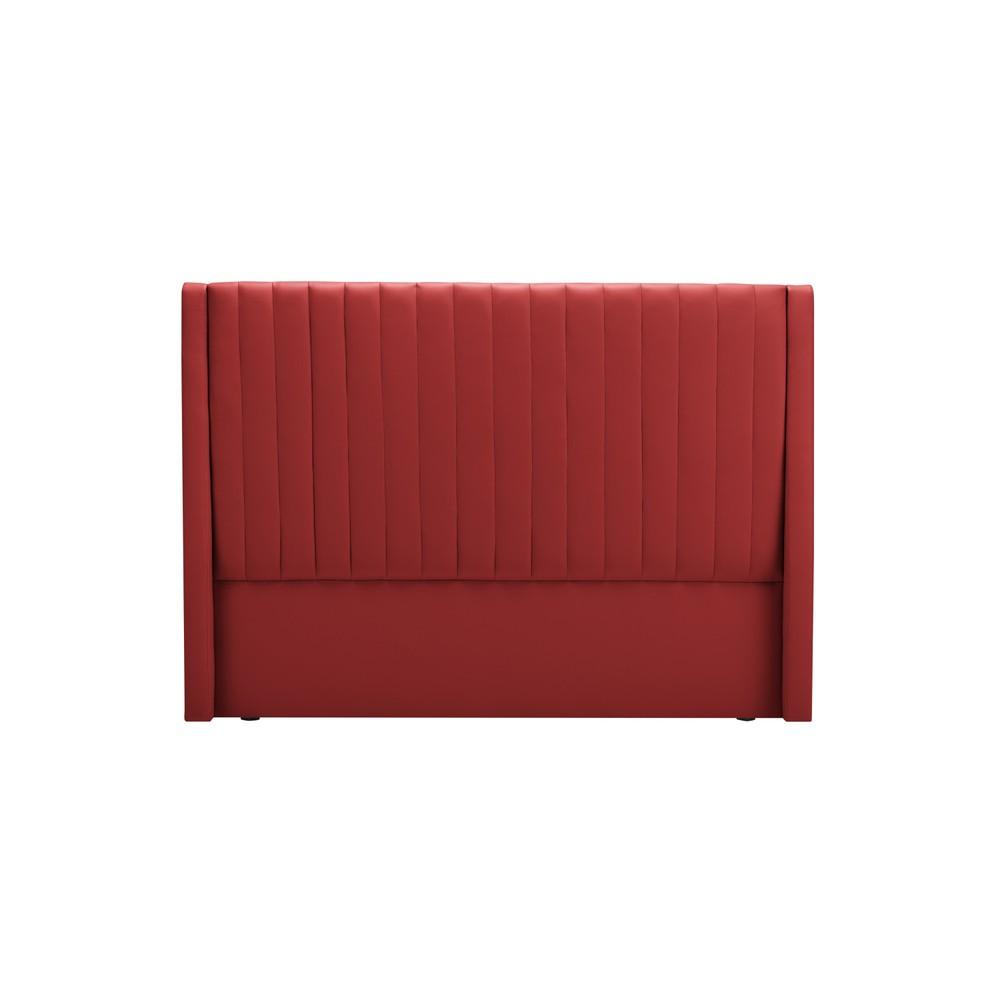 Červené čelo postele Cosmopolitan design Dallas, 160×120 cm
