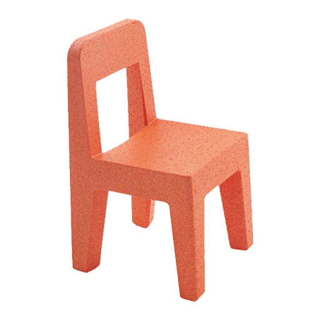 Oranžová detská stolička Magis Seggiolina Pop