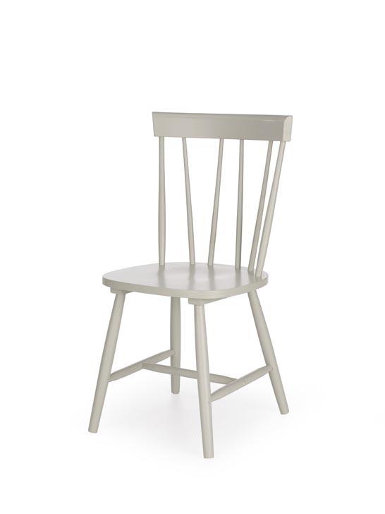Jedálenská stolička Charles (sivá)