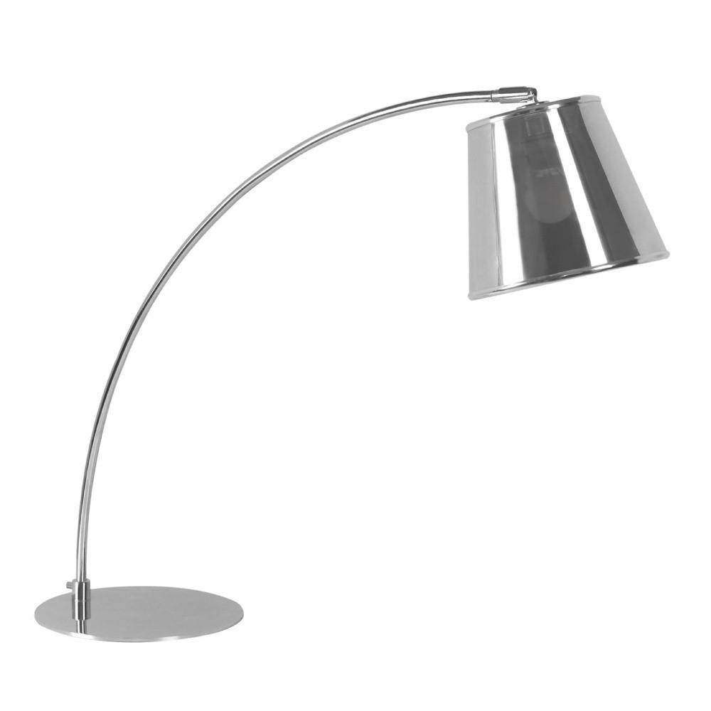Stolová lampa Premier Housewares Chrome