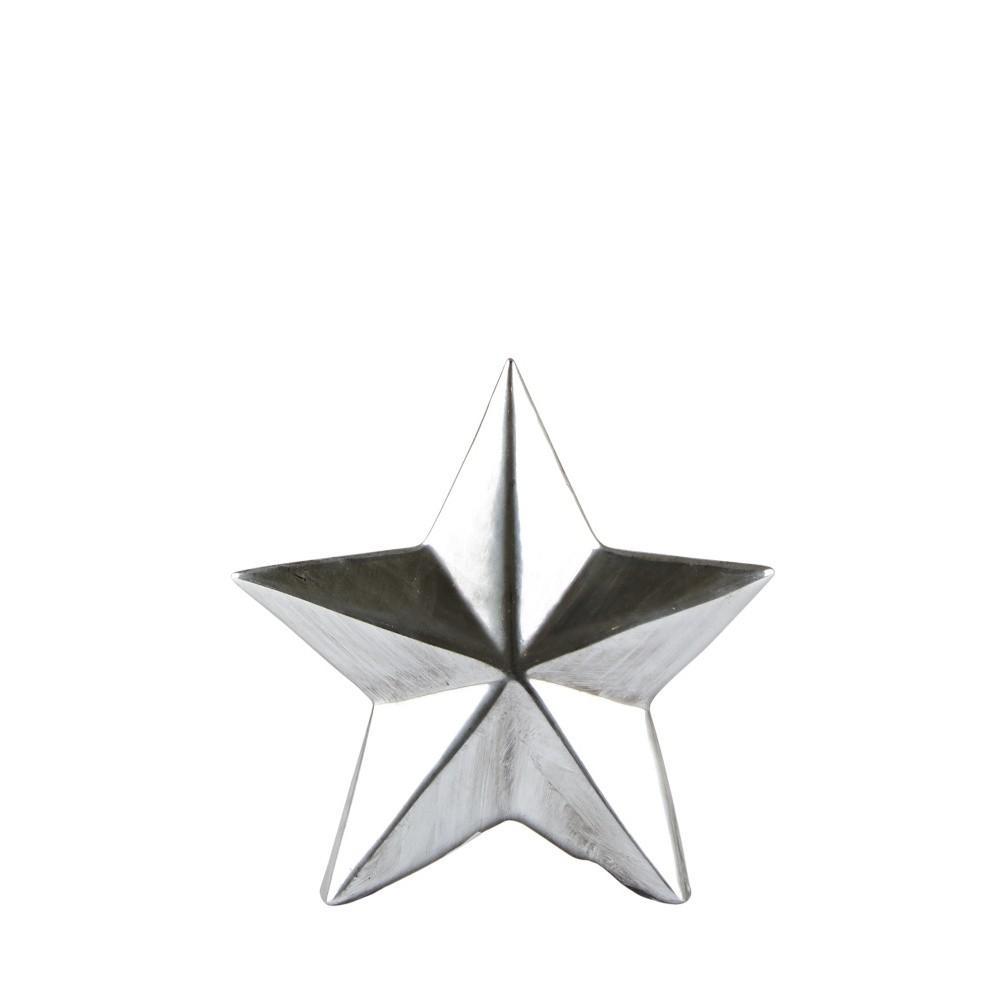 Dekoratívna soška KJCollection Star Silver, 12 cm