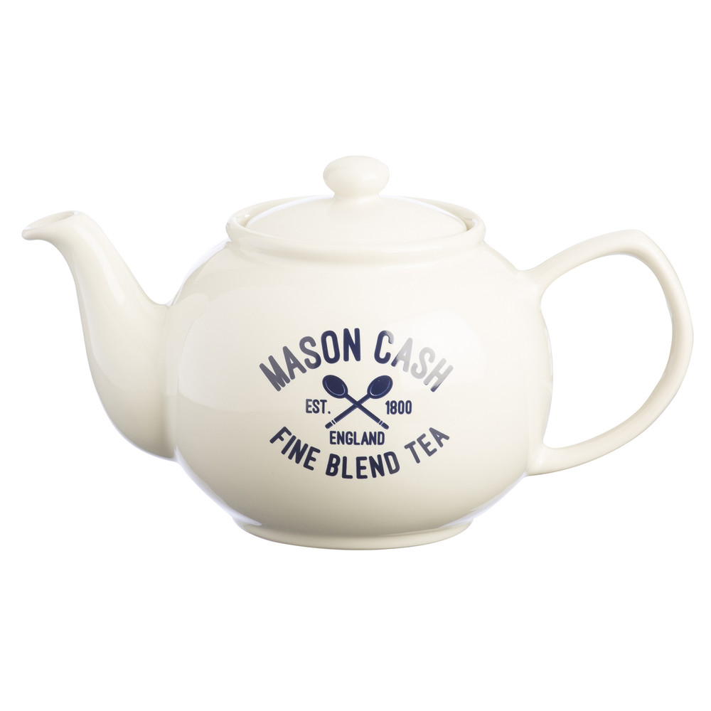 Biela kanvica na čaj Mason Cash Varsity