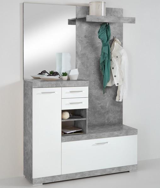 Bristol 1000, šedý beton/biela
