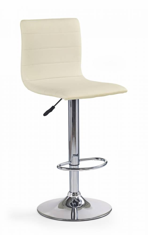 Barová stolička H-21 krémová