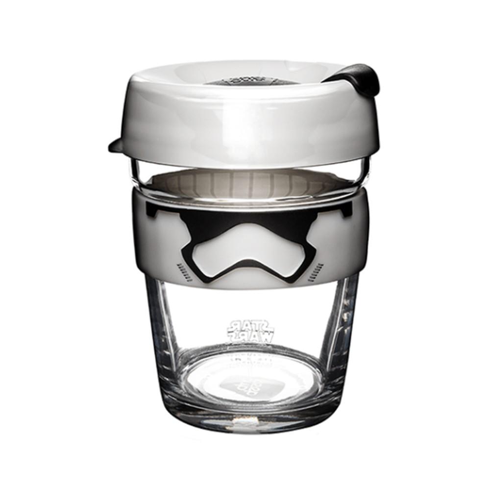Cestovný hrnček s viečkom KeepCup Star Wars Stormtrooper, 340 ml