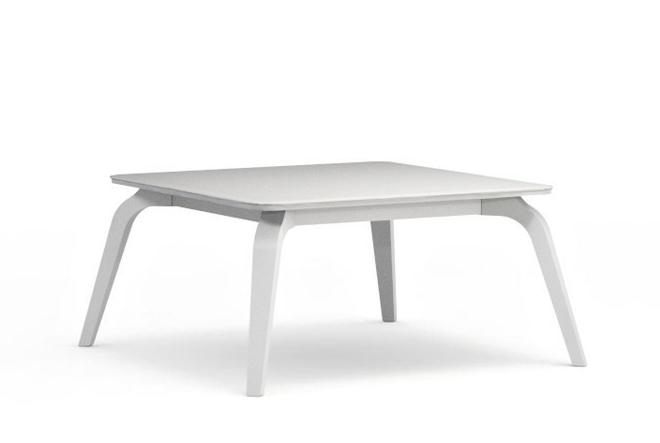Konferenčný stolík Possi LAW/80   Farba: Biela