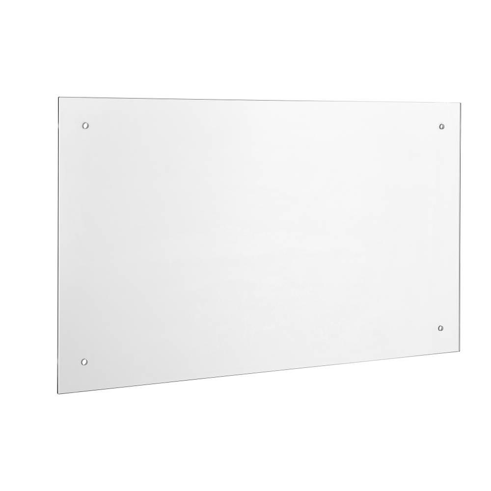 [neu.haus]® Kuchynský zadný panel / Splaschback - 90 x 40 cm - číre sklo