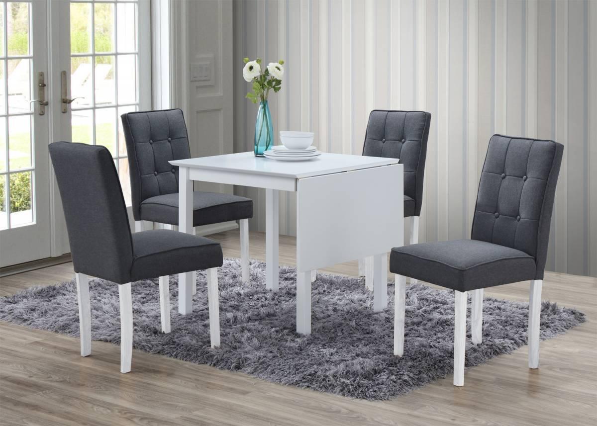 VARIETTA rozkladací stôl biely, II. AKOSŤ