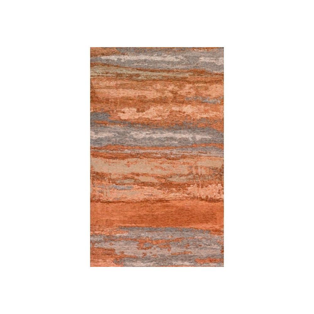 Oranžovo-sivý koberec Kate Louise Vintage, 110 x 160 cm