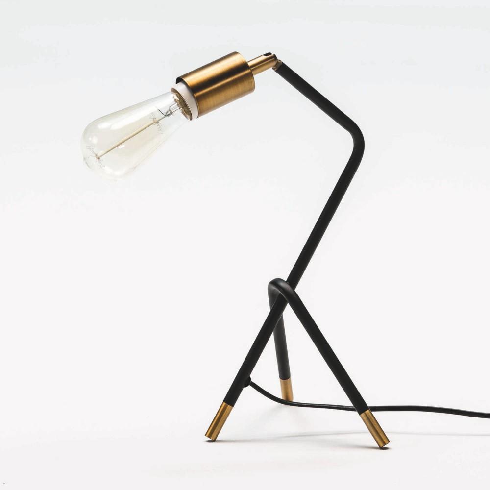 Stolová lampa z kovu Thai Natura Bulbie