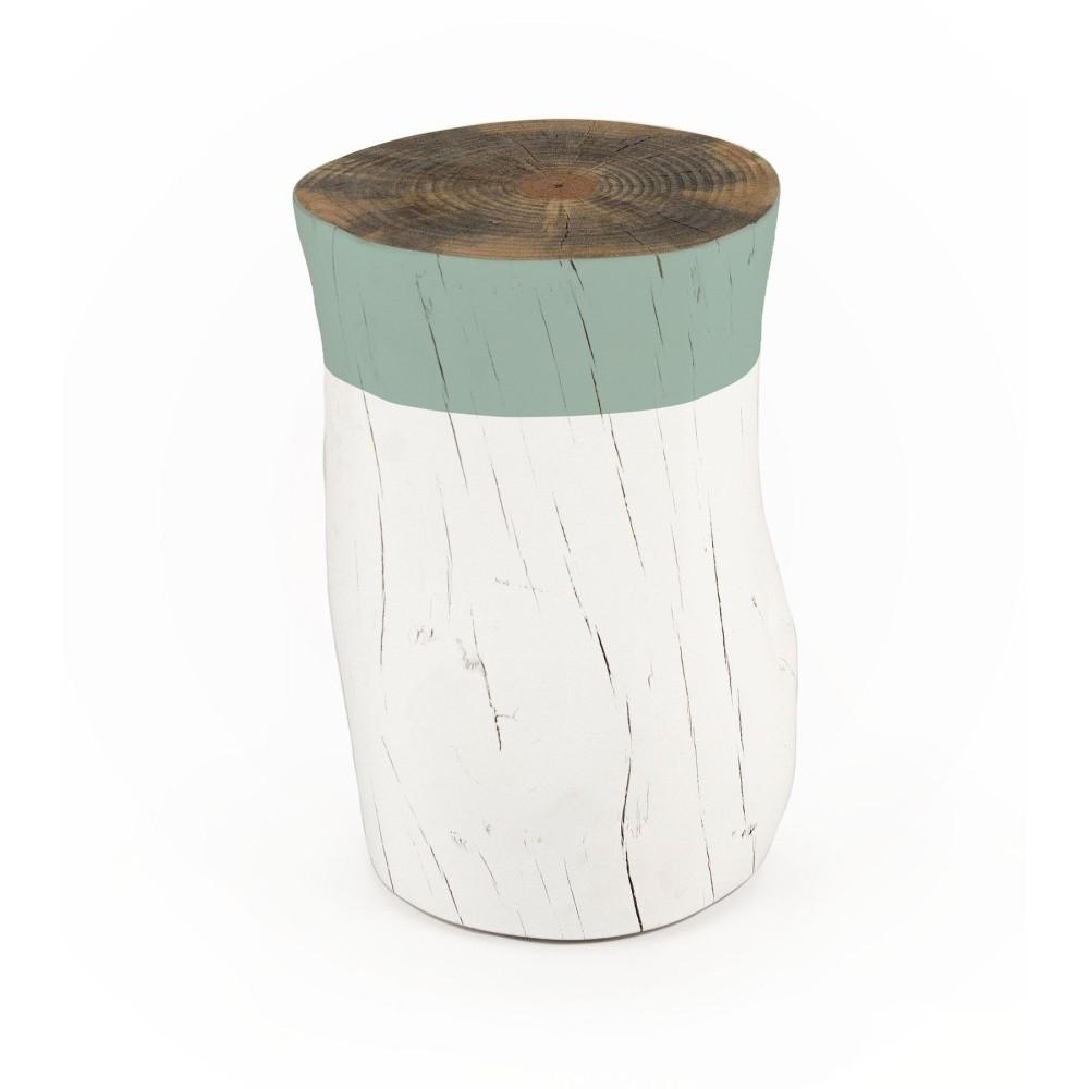 Taburetka z borovicového dreva Surdic Tronco Verde Jade