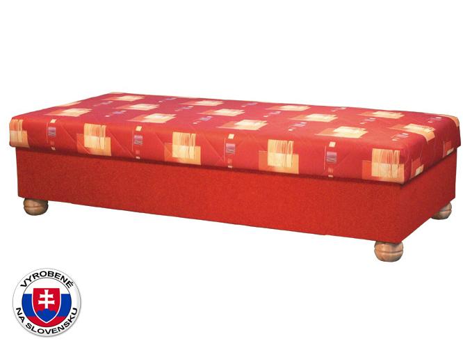 Jednolôžková posteľ (váľanda) 90 cm Miki (so sendvičovým matracom)