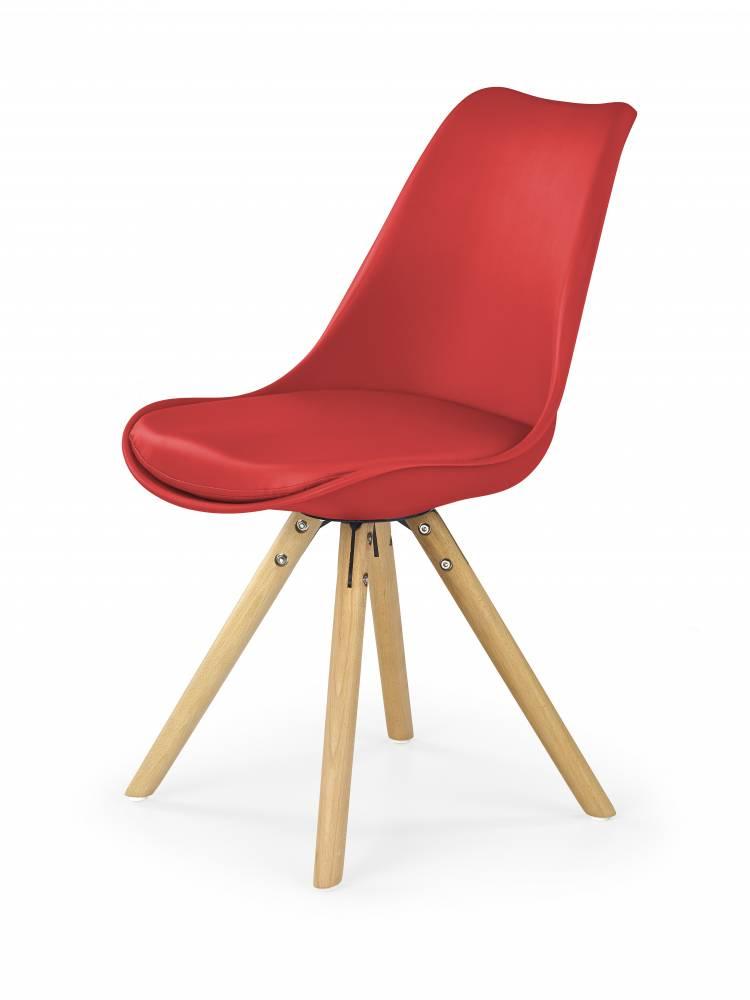 Jedálenská stolička K201 (červená)