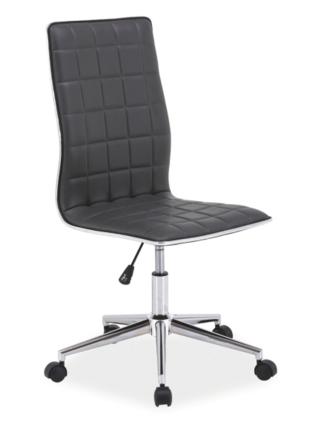 Kancelárska stolička Q-017 sivá