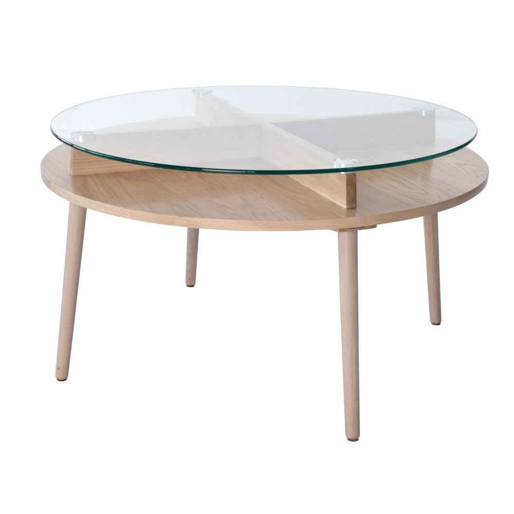 Konferenčný stolík z dubového dreva RGE Solo