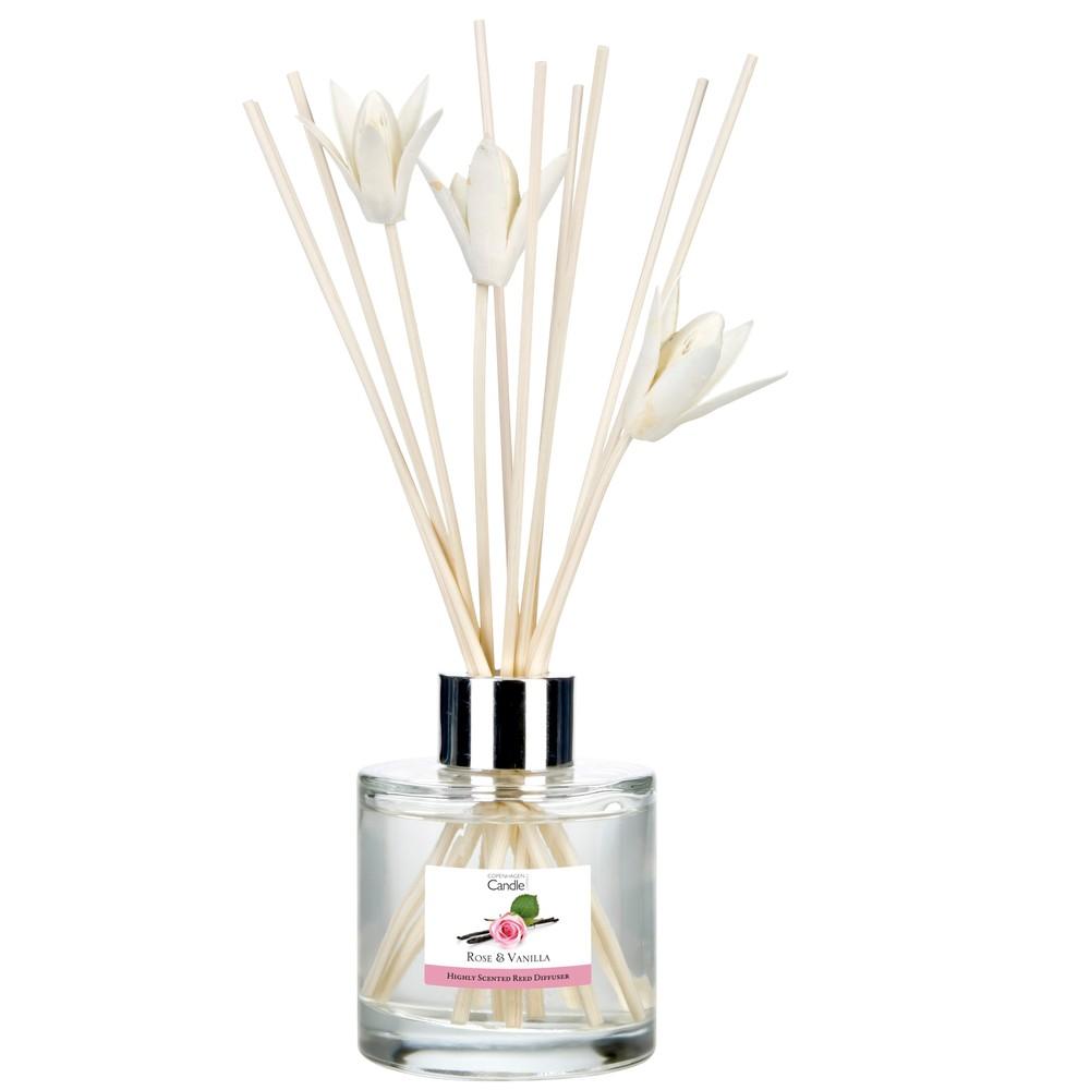 Aromatický difuzér Copenhagen Candles Rose&Vanilla, 100 ml
