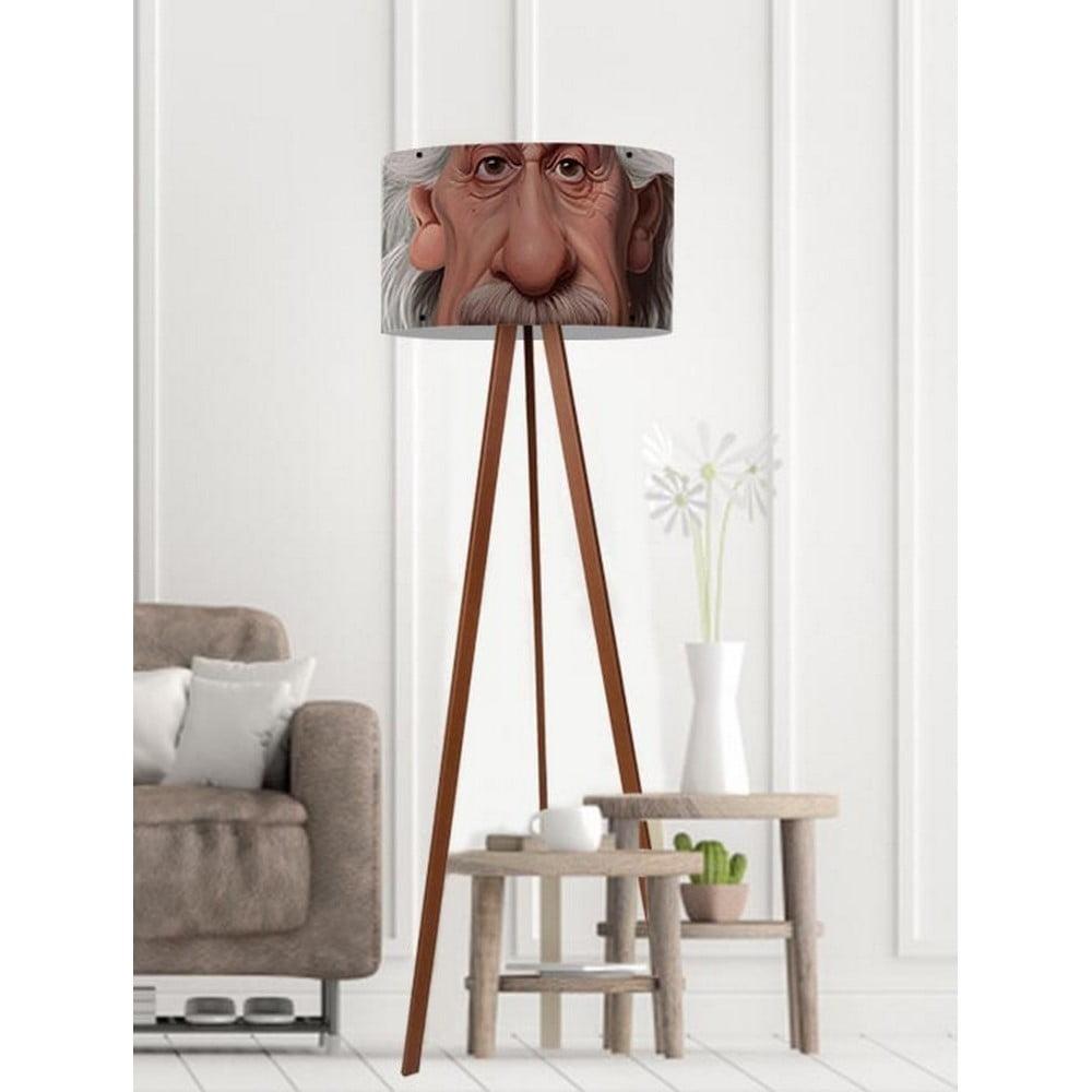 Stojacia lampa Albert Einstein