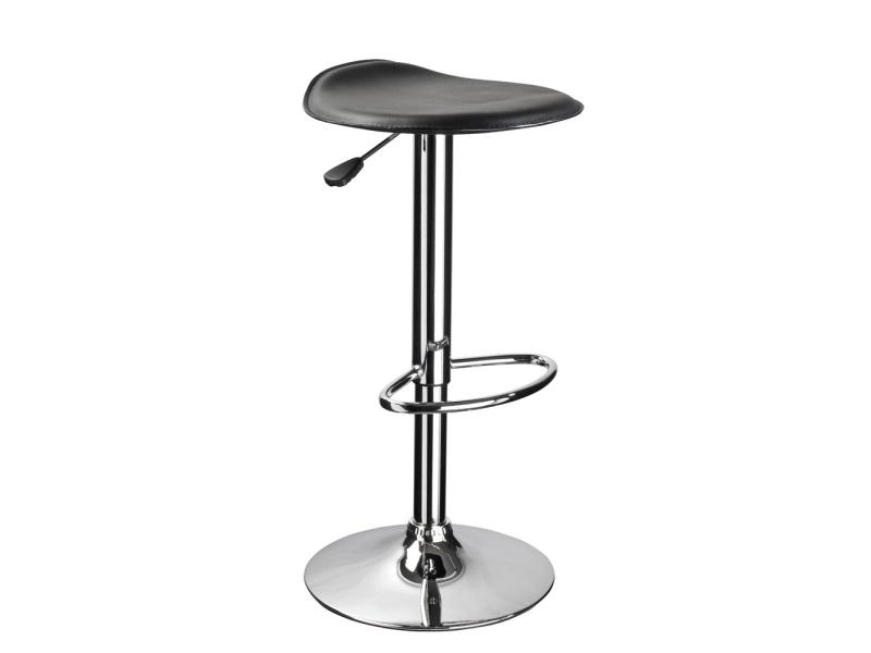 KROKUS AB-041 barová stolička, čierna