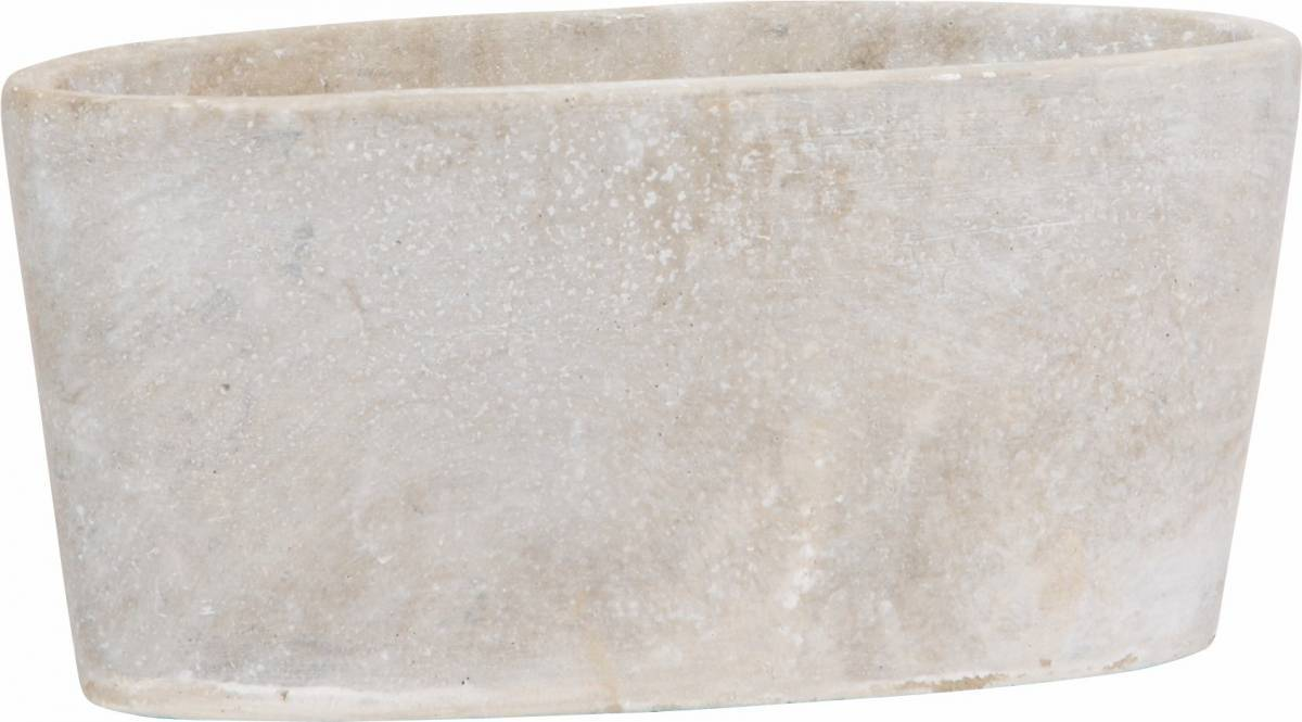 Kvetináč ASTERION - biela