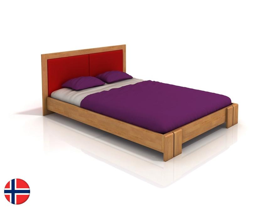 Manželská posteľ 200 cm Naturlig Manglerud (buk) (s roštom)