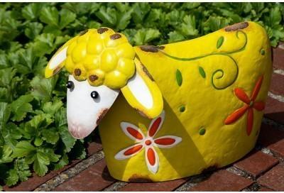 Záhradná dekorácia LOTTE - žltá